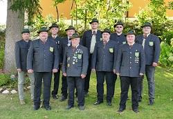 Vorstandschaft Kreuzbergschützen